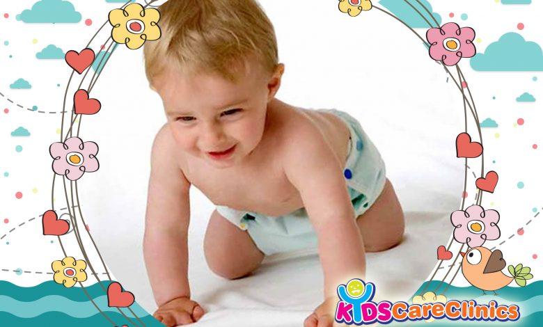 دليل التطور الحركي للطفل خطوة بخطوة