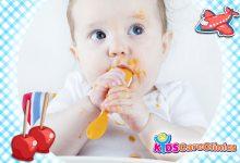 """Photo of وصفات أطعمة صحية يمكن أن تصنعيها بنفسك لطفلك دون السنة """"الجزء الأول"""""""